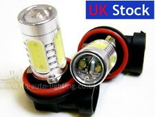 H11 Xenon WHITE 16W HIGH POWER 8000K COOL BLUE LED Car Fog Bulbs E