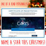 Personalised Gifts Birthday Aunt Name A Star Gift Set Thank You Thank You