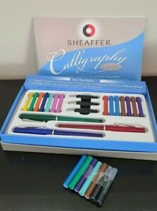 Sheaffer Caligraphy Classic Pen Kit w/ Extra Ink Cartridges