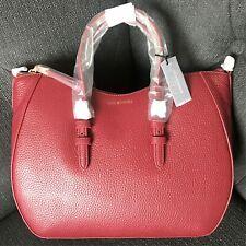Lulu Guinness Bag, Red Leather Julia Tote Handbag RRP £350 Genuine BNWT!