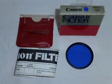 Canon 49mm 80B Filter   4980B  Made in USA old stock NEW