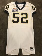 Alamo Bowl Nike Michigan Wolverines Authentic Football Jersey 48 Team Issued