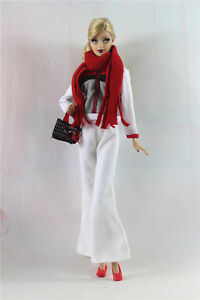 6in1 Set Fashion clothes/outfit Casual wear For 11.5in.Doll a01