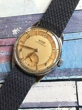 1940s Tissot Bicolor Dial Manual Mens Watch