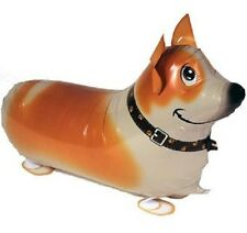 CORGI WALKING BALLOON FOIL HELIUM PET PARTY BIRTHDAY AIR PUPPY AIRWALKER DOG NEW