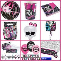 *Monster High* Alles zum Kindergeburtstag - Geburtstag Party Deko Motto -  GIRLS