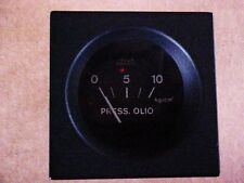 Ferrari Engine Oil Pressure Gauge Veglia 365 400 412 101425 GTC/4 GT4 2+2  OEM