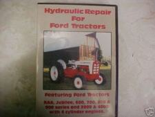 FORD TRACTOR hydraulic repair DVD 600 700 800 900 2000