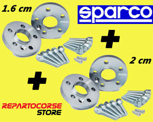 Spacers Sparco 16+20 MM 5 Holes Toyota Celica - Avensis - Carina II - Camry