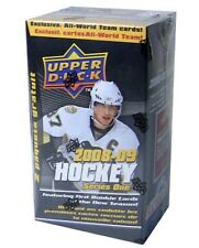 2008-09 Upper Deck Series 1 hockey cards Blaster Box with 12 Packs