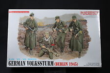 YK030 DRAGON 1/35 maquette figurine 6020 German Volksstrum (Berlin 1945)