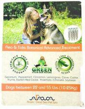 Arava Dead Sea Pet Spa Botanical Advanced Flea & Tick Dog Treatment, 22 - 55 lbs