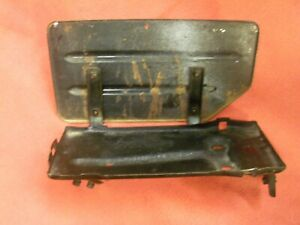 1956-1957 Ford Thunderbird Battery Tray and Side Shield and Hold Down
