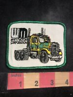 Vtg WHITE MOTOR CORPORATION Semi Truck Trucking Company Advertising Patch 95D3