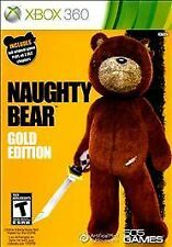 Naughty Bear Gold Edition (LN) Complete Pre-Owned Xbox 360