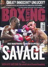 Boxing News October 18 2018 Terrance Crawford Billy Joe Saunders