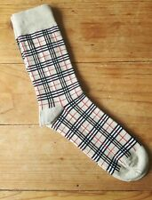 Men's Burberry Design Socks