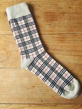 Men's Burberry Design Socks