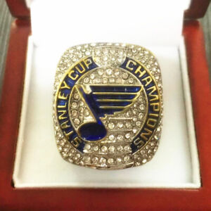 2019 ST LOUIS BLUES STANLEY CUP CHAMPIONSHIP RING wood Box
