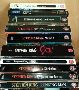 Lot 10 Livres De Poche Stephen King