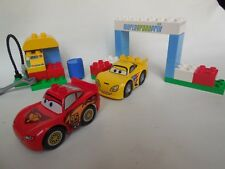 Lego Duplo Disney Cars-race day (6133) - Incluye Rayo Mcqueen & Jeff Gorvette