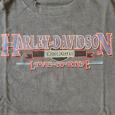 Harley Davidson Live To Ride Laidlaws L.A. County Gray T-Shirt~XL