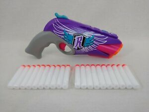 Nerf Rebelle 4Victory Hand Gun Blaster with 20 Bullets Free Postage