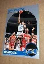 HOT Michael Jordan wearing #12 Jersey - 1990-91 Hoops Sam Vincent #223 CENTERED