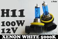 H11 12V 100W Xenon White 5000k Halogen Car Headlight Lamp Globes Bulbs LED HID