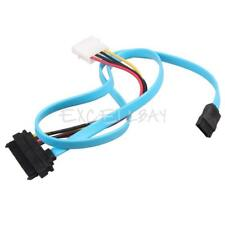 7 Pin SATA Serial ATA to SAS 29 Pin and 4 Pin Power Adapter Connector Cable E0Xc