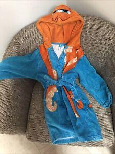 🐙🐙 DISNEY FINDING NEMO 'HANK' DRESSING GOWN 🐙 COLLECTORS ITEM 🐙 AGE 5-6 🐙🐙