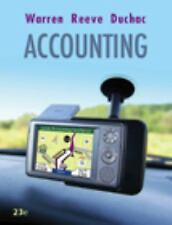Accounting, Carl S. Warren, James M. Reeve, Jonathan E. Duchac, Good Book