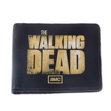 The Walking Dead Men's Leather Logo Bifold Wallet Purse