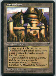 Hammerheim | MtG Magic Legends | Italian | MP
