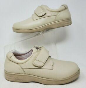 Dr. Comfort 4030 Maggy Beige Strap Diabetic Walking Sneakers Womens US 9W