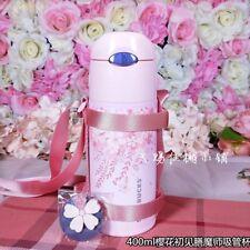 New Starbucks 2018 China 400ml First Sight Sakura Thermos Tumbler