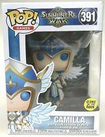 Funko Pop Summoners War Camilla Pop Games 391 Vinyl Figure Glow In The Dark NEW