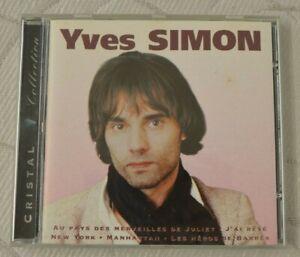 CD - Yves Simon - Cristal Collection  *** A écouter ***