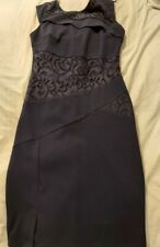 Navy Blue Lipsy Bodycon Dress- Size 10- Never Worn