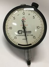 Brown Amp Sharpe Standard Gage J1 23228 A Dial Indicator 0 100 Range 0005