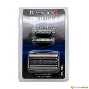 REMINGTON TITANIUM X SPF-300 FOIL AND CUTTERS, F5800 F7800, F7805, New F7808 UK