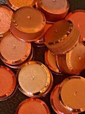 50 Titos Bottle Caps No Dents Art & Crafting Man Cave Plastic Copper Colored