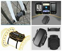 Bike Bicycle ANT+ Bluetooth Wireless Speed Cadence Sensor For Garmin Bryton