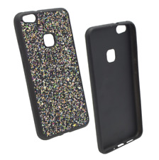 """^ Apple iPhone 6 4,7"""" SCHWARZ Schutz Glitzer Glitter Bling Schimmernd Cover Case"""