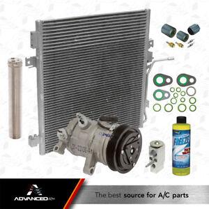 New A/C AC Compressor Kit Fits: 2007 2008 Dodge Nitro  V6 3.7L / 2008 Liberty V6