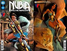 Nubia And The Amazons #1 Cvr A & B Set (Nm) Dc Comics - Wonder Woman 2021