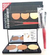 SMASHBOX Studio LA Step-by-Step Contour KIT Contour/Bronze/Highlight FREE Brush