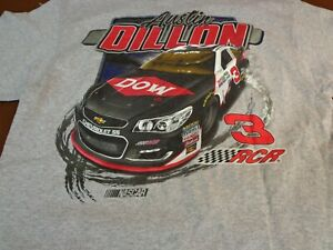 NASCAR Austin Dillon #3   Richard Childress Racing  Large  Pocket  T Shirt  S3