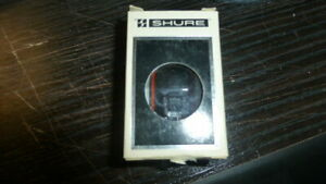 Shure NV30HE stylus for MV30 SME Series III tonearm wand.  NOS!!  Super rare!!