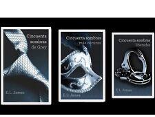 50 Sombras de Grey EL James Libro Trilogia - Español - Mas Oscuras/ Liberadas
